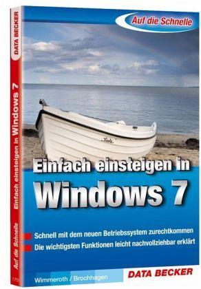 Ulrich Wimmeroth - Einfach einsteigen in Windows 7