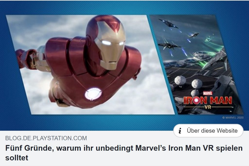 Marvels Iron Man VR - Ulrich Wimmeroth