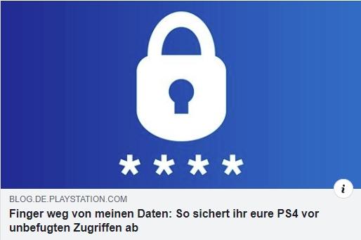 So schützt ihr eure Daten auf der PS4 - Ulrich Wimmeroth