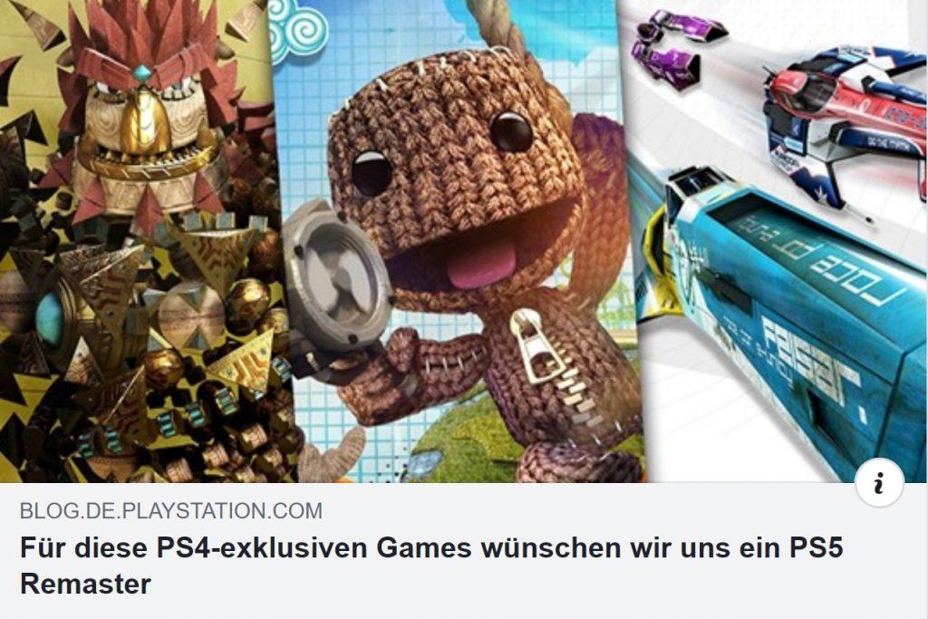 Für diese PS4-exklusiven Games wünschen wir uns ein PS5 Remaster