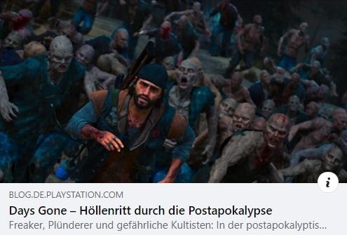 PS4: Days Gone – Höllenritt durch die Postapokalypse