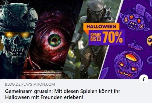 PS4 - Gemeinsam gruseln: Mit diesen Spielen könnt ihr Halloween mit Freunden erleben!