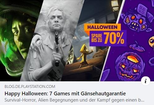 PlayStation - Happy Halloween: 7 Games mit Gänsehautgarantie