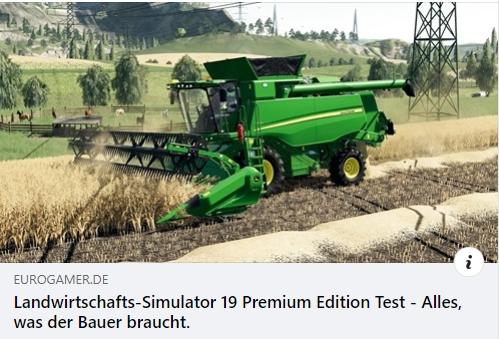 PS4 - Landwirtschafts-Simulator 19 Premium Edition im Test