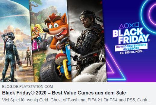 PS4 - Black Friday 2020 - Die besten Spiele