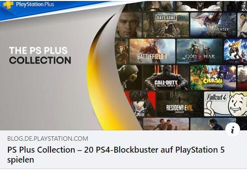 PS5 - Alle Spiele der PS Plus Collection in der Übersicht