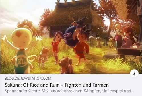 PS4 - Sakuna: Of Rice and Ruin - Fighten und Farmen