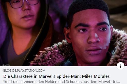 Die Charaktere in Marvel's Spider-Man: Miles Morales
