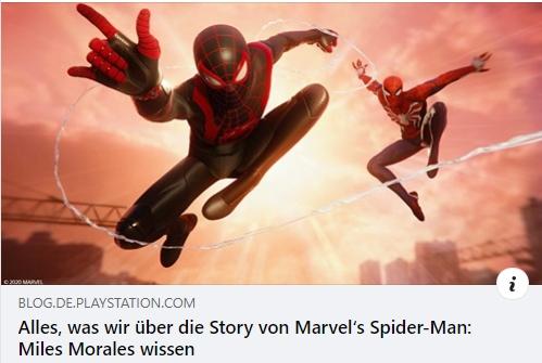 Die Story von Marvel's Spider-Man: Miles Morales