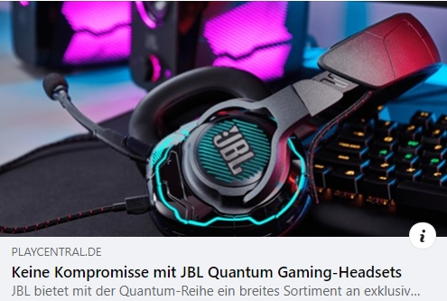 JBL Quantum Gaming-Headsets