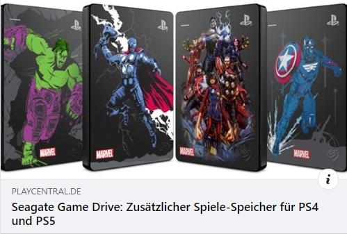 Seagate Game Drive für PS4 und PS5