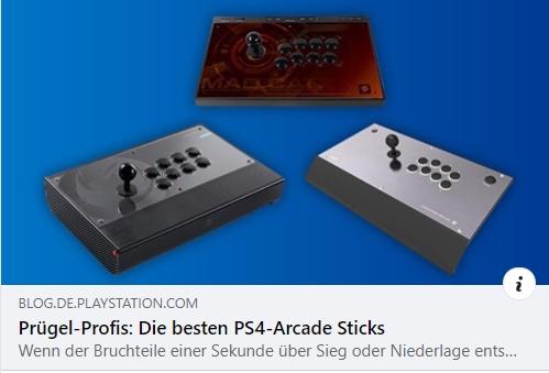 Prügel-Profis: Die besten PS4-Arcade Sticks