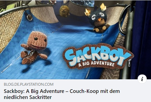 Sackboy: A Big Adventure - Couch-Koop