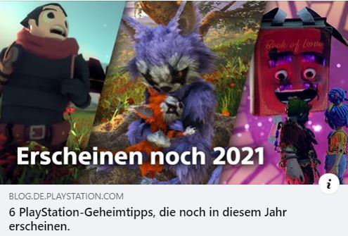 PS4 - PlayStation-Geheimtipps 2021