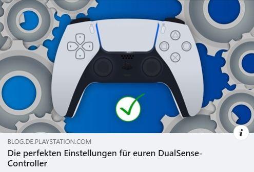 DualSense-Controller - Die perfekten Einstellungen