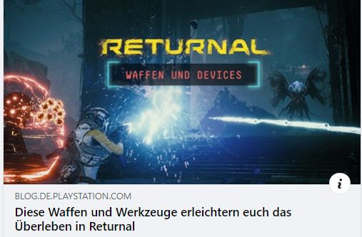 Returnal PS5 - Waffen und Werkzeuge