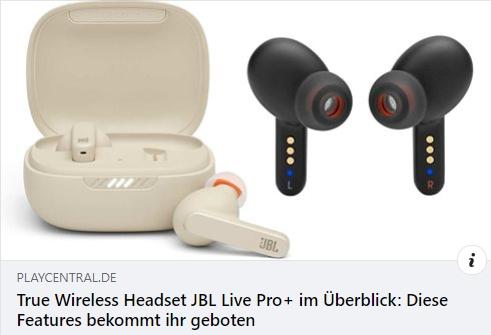 JBL Live Pro Plus im Test