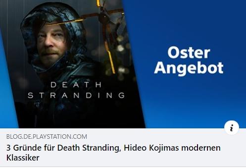 Death Stranding, Hideo Kojimas modernen Klassiker