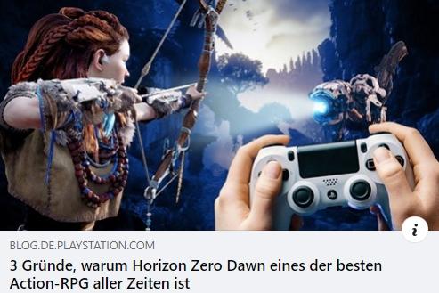 Horizon Zero Dawn - 3 Gründe, warum es eines der besten Action-RPG aller Zeiten ist