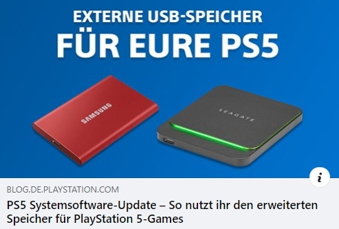 PS5 SSD - So nutzt ihr den erweiterten Speicher für PlayStation 5-Games