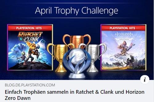 PlayStation Trophäen sammeln in Ratchet & Clank und Horizon Zero Dawn