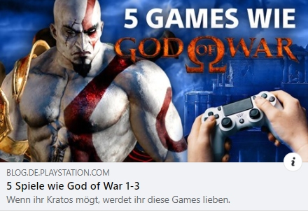 PlayStation: 5 Spiele wie God of War 1 - 3