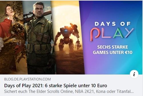 Days of Play 2021 - 6 starke Spiele unter 10 Euro