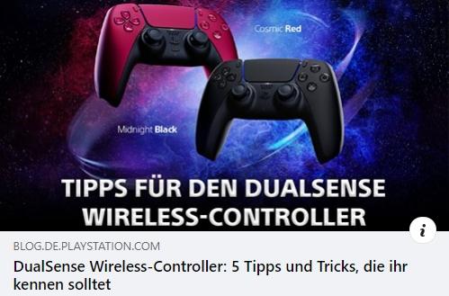 DualSense Wireless-Controller: 5 Tipps und Tricks, die ihr kennen solltet