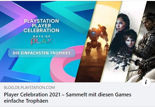 Player Celebration 2021 – Sammelt mit diesen Games einfache Trophäen
