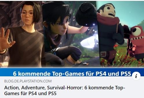 PS4 und PS5 - 6 kommende Top-Games
