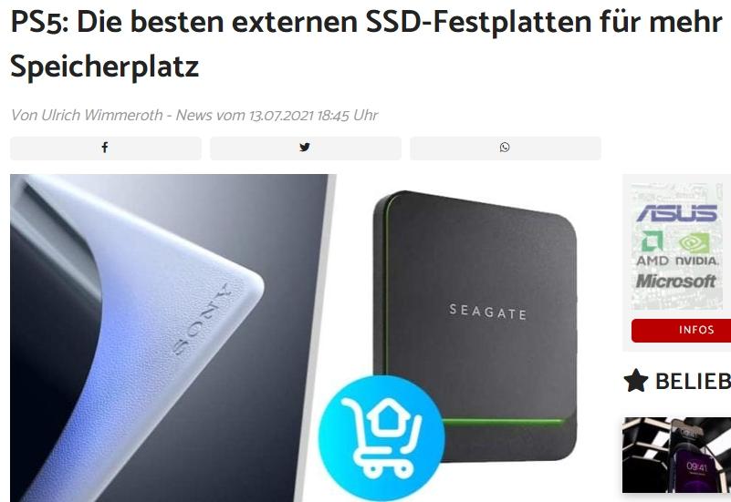 Die besten externen SSD