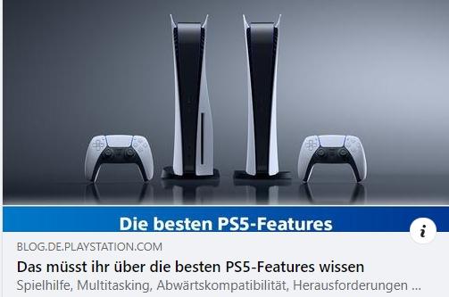 Die besten PS5-Features - Teil 1