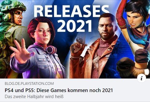 PS4 und PS5 - Diese Spiele erscheinen 2021