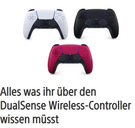 Alles was ihr über den DualSense-Controller wissen müsst