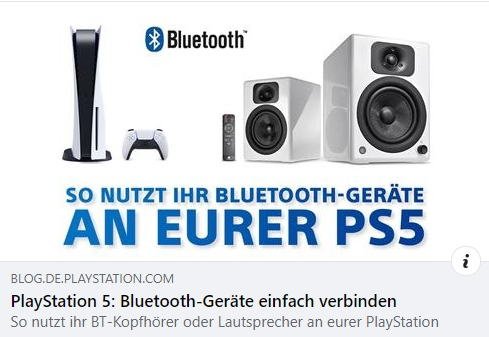 PS5 Bluetooth