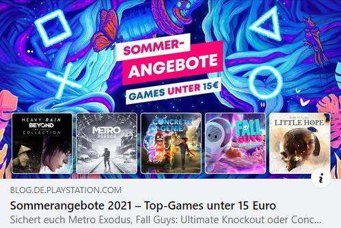 PSN - Die besten Games unter 15 Euro