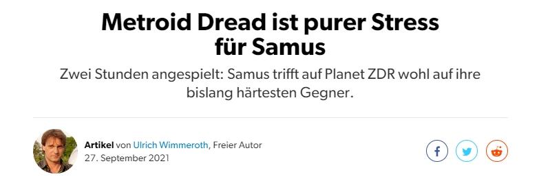 Metroid Dread - Vorschau