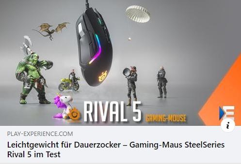 SteelSeries Rival 5