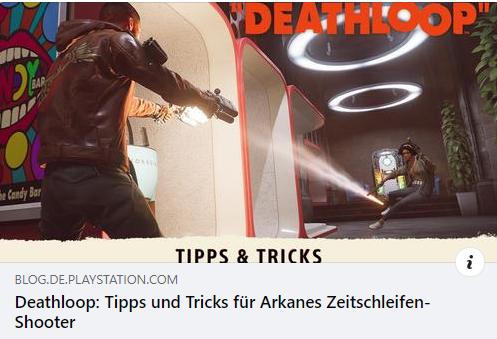 Deathloop - Tipps und Tricks