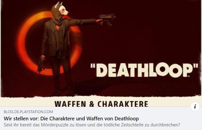 Deathloop - Charaktere und Waffen